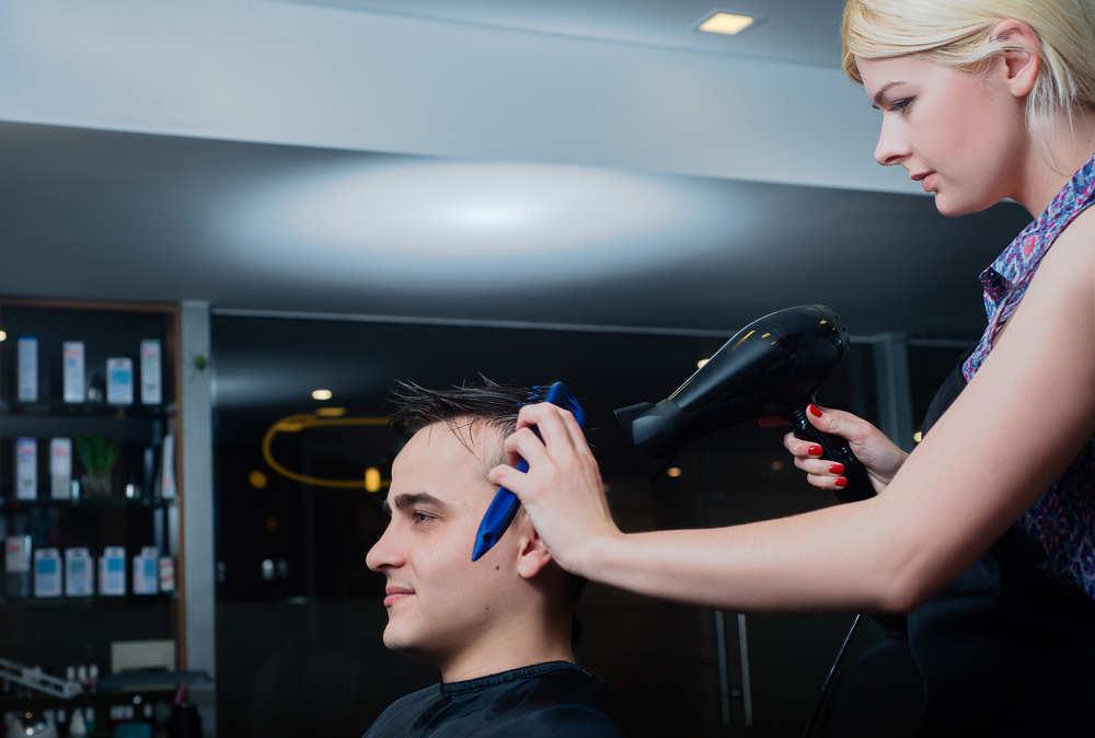 El campeón del Mundo de peluquería